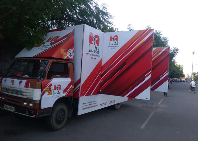 led van show company in chandigarh