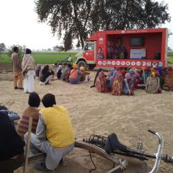 LED Mobile Van Campaign in UP,