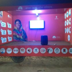 LED Mobile Van Campaign on hire In UP,