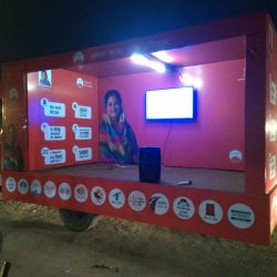 Video Mobile van show company in UP,