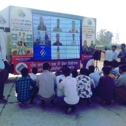 Led Mobile van show agency in South india