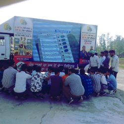 LED Mobile Van Campaign on hire in South India