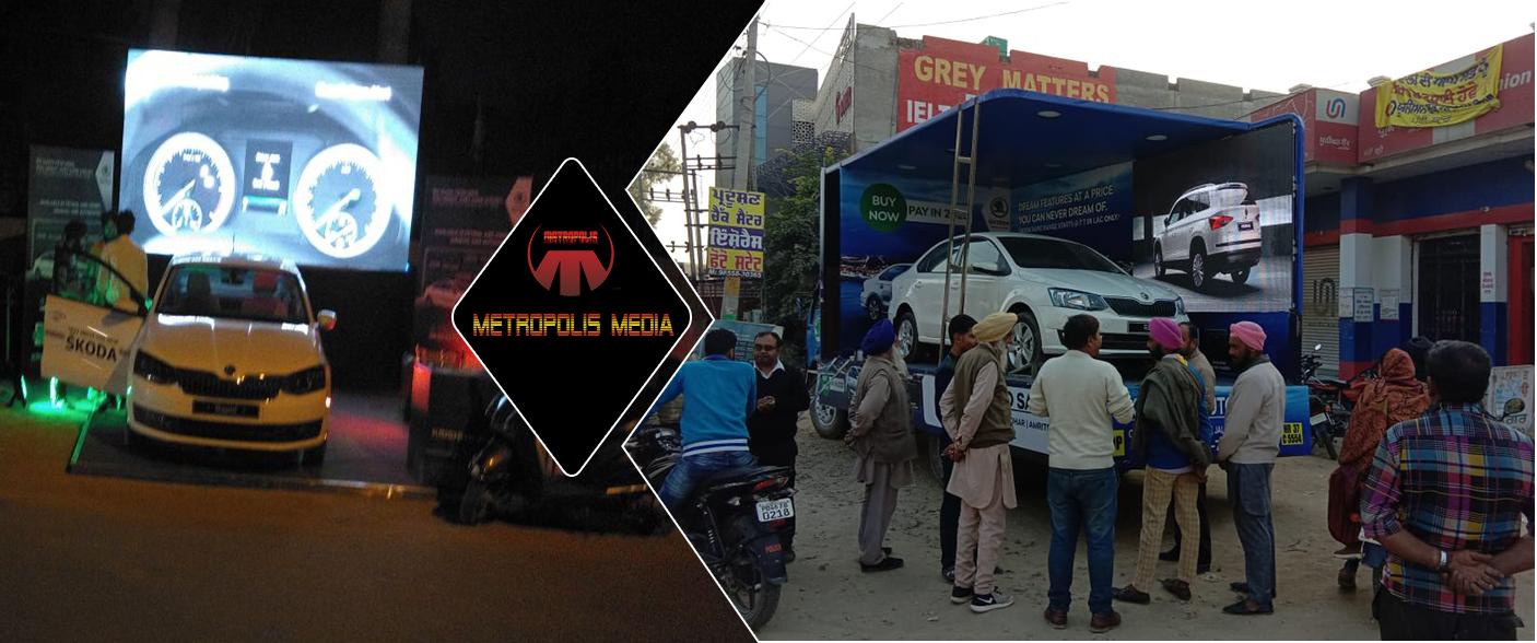 Best Mobile Van Roadshow agency in chandigarh